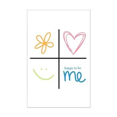 Happy to be me Posters