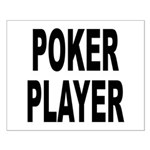 Poker Player Small Poster