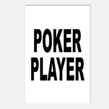 Poker Player Postcards (Package of 8)