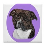 American Staffordshire Tile Coaster