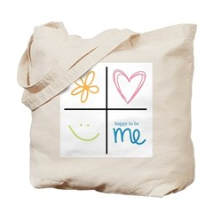 Happy to be me Tote Bag
