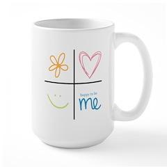 Happy to be me Mug