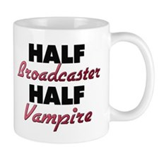 Half Broadcaster Half Vampire Mugs