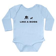 Barbet Long Sleeve Infant Bodysuit