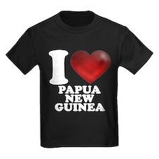 I Heart Papua New Guinea T-Shirt