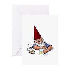 Drunken Barley Gnome Greeting Cards (Pk of 10)