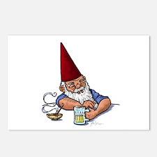 Drunken Barley Gnome Postcards (Package of 8)