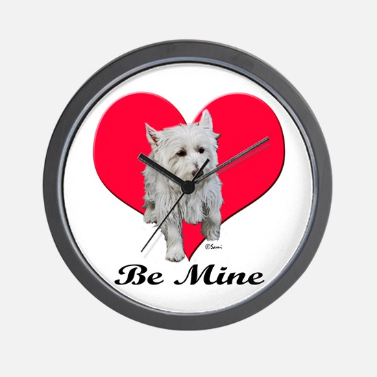 Max the Westie Wall Clock