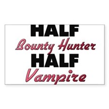 Half Bounty Hunter Half Vampire Decal