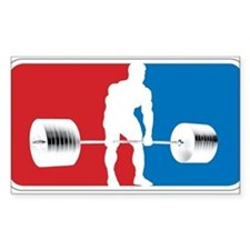 DEADLIFT LOGO Rectangle Bumper Stickers