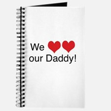 We heart daddy Journal