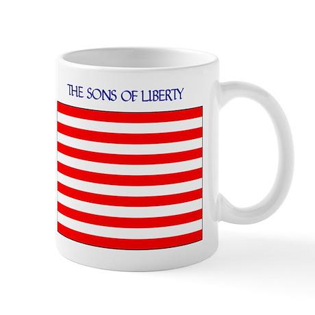 The Sons of Liberty Flag Mug