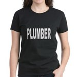 Plumber (Front) Women's Dark T-Shirt
