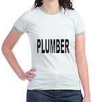 Plumber (Front) Jr. Ringer T-Shirt