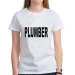 Plumber (Front) Women's T-Shirt