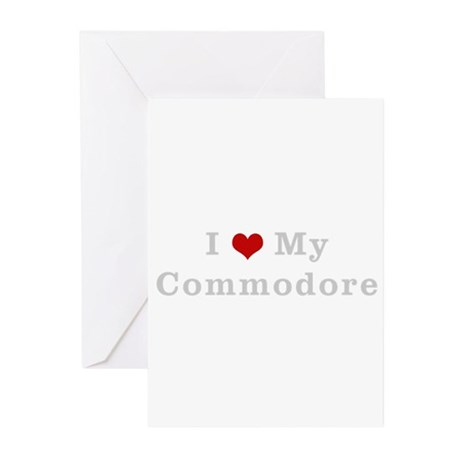 I love my commodore Greeting Cards (Pk of 10)