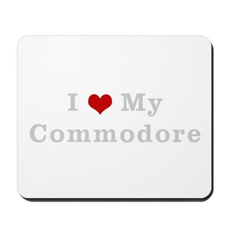 I love my commodore Mousepad
