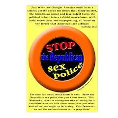 Stop Republican Sex Police Postcards (8)