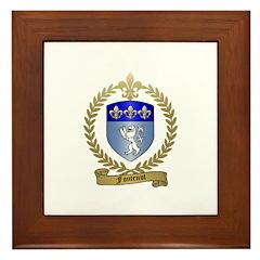FONTENOT Family Crest Framed Tile