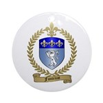 FONTENOT Family Crest Ornament (Round)