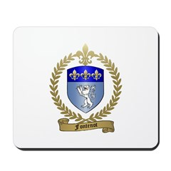 FONTENOT Family Crest Mousepad