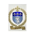 FONTENOT Family Crest Rectangle Magnet (10 pack)