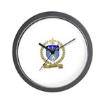 FONTENOT Family Crest Wall Clock