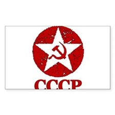 CCCP Russia! Rectangle Decal