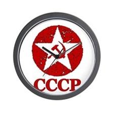CCCP Russia! Wall Clock