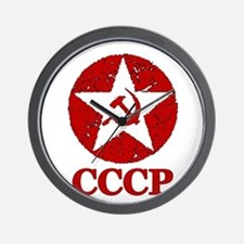 CCCP Russia! Wall Clock