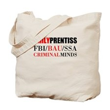 Emily Prentiss Tote Bag