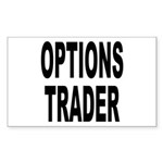 Options Trader Rectangle Sticker
