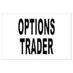 Options Trader Large Poster
