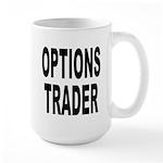 Options Trader Large Mug