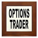 Options Trader Framed Tile