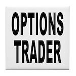 Options Trader Tile Coaster