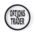 Options Trader Wall Clock