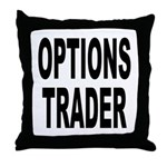 Options Trader Throw Pillow