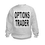 Options Trader (Front) Kids Sweatshirt