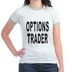Options Trader (Front) Jr. Ringer T-Shirt