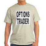 Options Trader (Front) Ash Grey T-Shirt