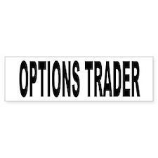Options Trader Bumper Bumper Sticker