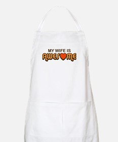 My Wife is Awesome BBQ Apron