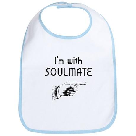 I'm With SoulMate Bib