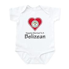 Happily Married Belizean Infant Bodysuit