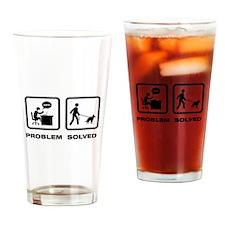 Belgian Groenendael Drinking Glass