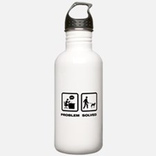 Belgian Malinois Water Bottle