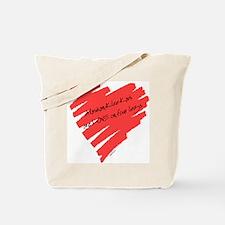 Alaskan Klee Kai Love on 4 Legs Tote Bag