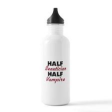 Half Beautician Half Vampire Water Bottle