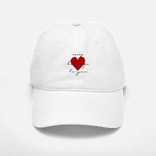 my heart belongs Baseball Baseball Cap